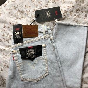✨HOST PICK✨Levi's 501 Skinny Jeans